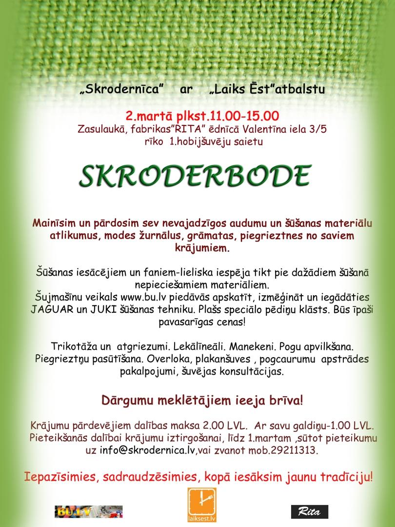 SKRODERBODE poster